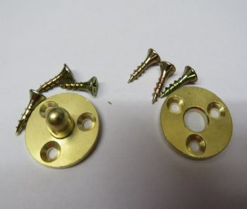 Brass Baseboard Alignment Dowels / Pattern Makers Dowels
